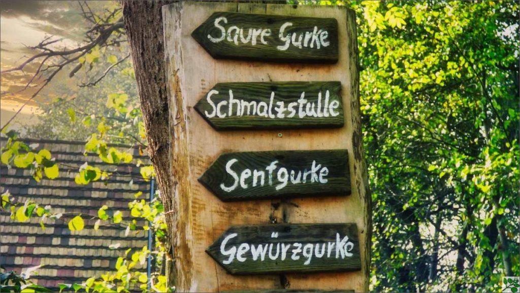 Fastenkurs Spreewald Schild